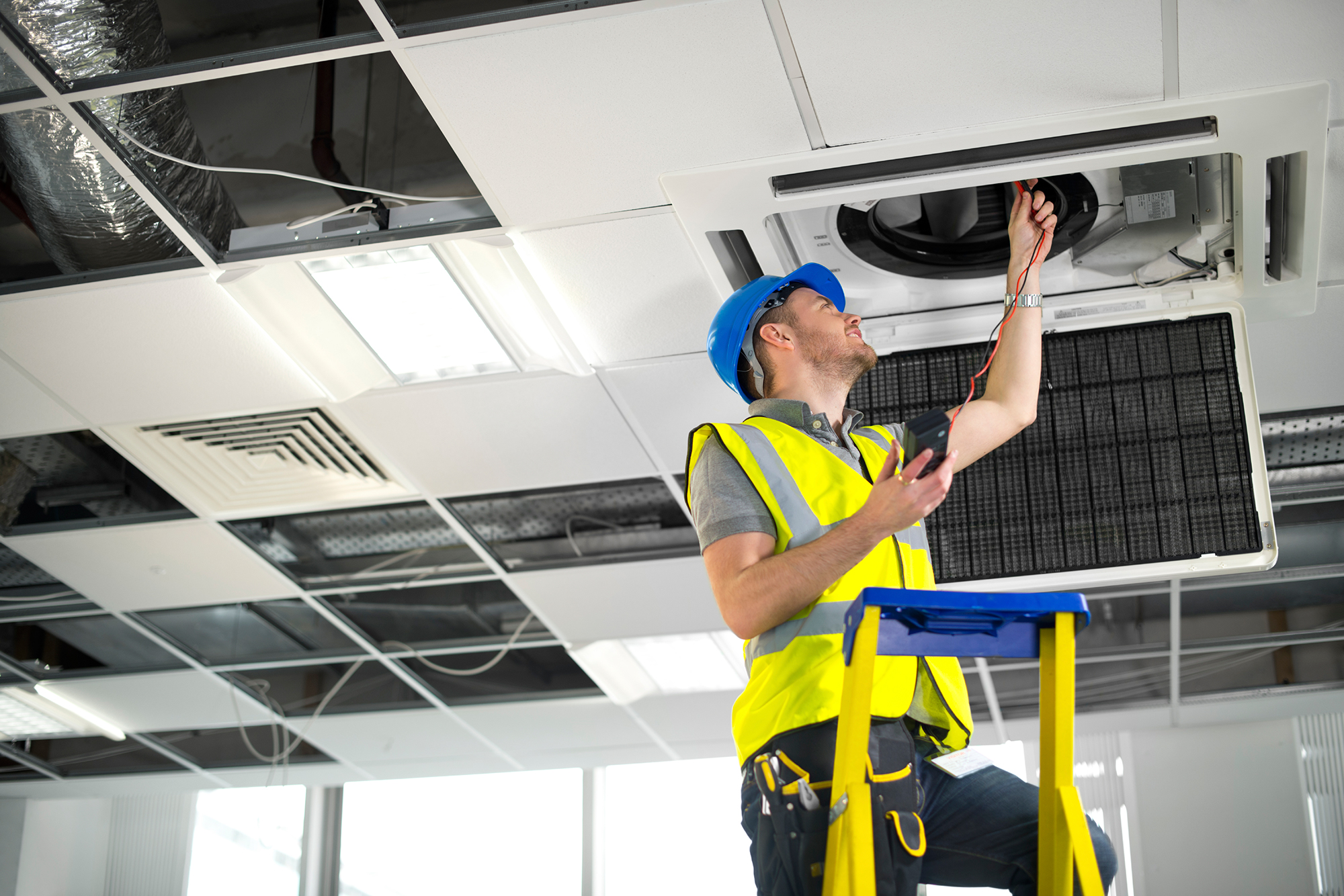 Are we just blue collar is the construction industry for New and innovative heating and cooling system design