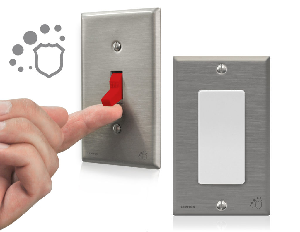 Leviton Switches & Wallplates: Selling Antimicrobial Treated Devices ...