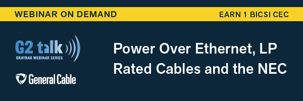 Heat rise in power over ethernet poe applications why cable earn 1 bicsi cec by watching 50 minutes of this webinar keyboard keysfo Image collections